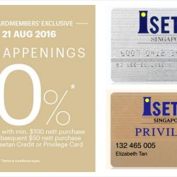 Isetan: Enjoy 10% rebate vouchers with min $100 purchase