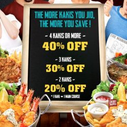 The Manhattan FISH MARKET: Lunch with More Kakis and Get Up to 40% OFF