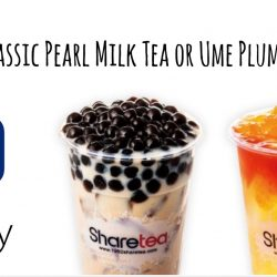 UOB: S$1 Classic Pearl Milk Tea or Ume Plum Fruit Tea with UOB Mighty or Apple Pay