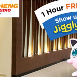 Teo Heng KTV Studio: Enjoy 1 Hour FREE KTV when you show your Jigglypuff!