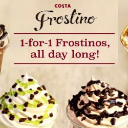 Costa Coffee: 1-FOR-1 Frostinos All Day Long