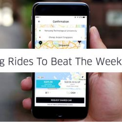 Uber: Promo Code for Weekdays $5 uberPOOL Rides to Anywhere in Singapore