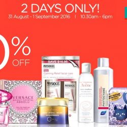 Watsons: 2 Days Only Sale at Watsons HQ up to 70% OFF on Bio-essence, Avene, Secret Day and more