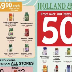 Holland & Barrett: 50% OFF Over 100 Items & Coupon Promotions