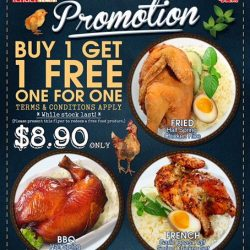 Tenderfresh Xpress: Opening Promotion at J Cube - Buy 1 Get 1 FREE