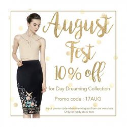 Sissa: Last 3 days to get 10% disc on Day Dreaming Collection