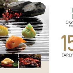 Crystal Jade: Enjoy 15% off your total bill when you lunch early from 11.15am