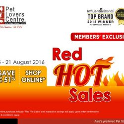 Pet Lovers Centre: National Day Sale Up to 51% OFF