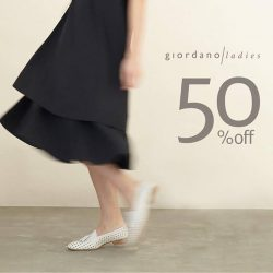 Giordano Ladies: End Season Sale 50% OFF