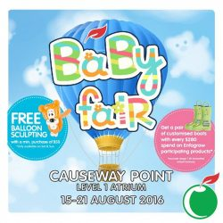 Cold Storage: Baby Fair at Causeway Point