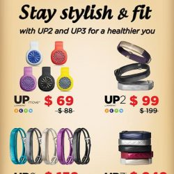 Nübox: Jawbone fitness trackes at promotional price