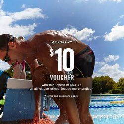 Royal Sporting House: $10 OFF on all regular-priced Speedo merchandize