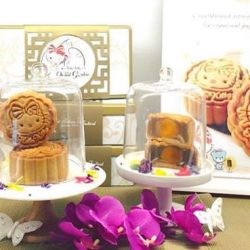 Hello Kitty Orchid Garden: Hello Kitty Orchid Garden Mooncakes now available for sale