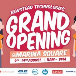 Marina Square: Newstead Technologies Grand Opening @ Central Atrium Marina Square