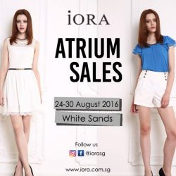 IORA: Atrium Sales at White Sands