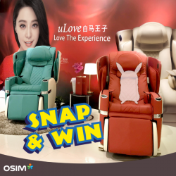 OSIM: First 30 Pokefans who snap Pokemon on OSIM Products Daily will receive a FREE Eye Mask