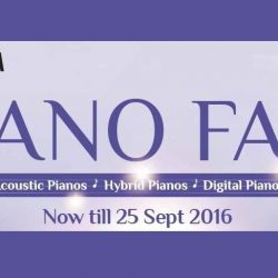 Yamaha: Piano Fair 2016