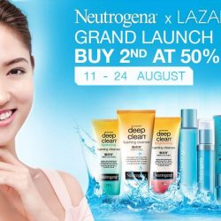 Lazada: Buy 1 Get 2nd at 50% OFF Selected Neutrogena Products