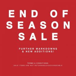Ninth Collective: End of Season SALE