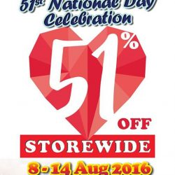 sOmang: National Day Promotion with 51% OFF Storewide