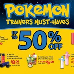 POPULAR: Enjoy up to 50% off on selected Pokemon Trainers Must-Haves