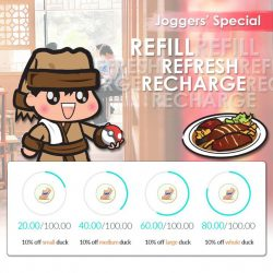 Dian Xiao Er: Show your Jogger Distance to get 10% OFF Herbal Duck