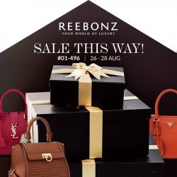 Reebonz: RSVP for Season Clearance at Reebonz Suntec for a $100 voucher