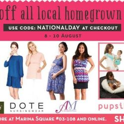 Maternity Exchange: National Day Promotion Enjoy 20% off all local homegrown brands