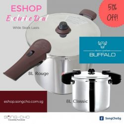 Song-Cho: Pressure Cookers SALE - 51% OFF @ ESHOP