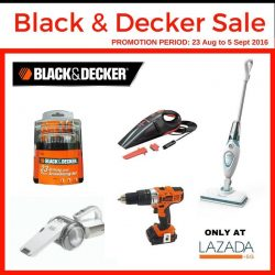 Selffix DIY: Black & Decker Sales 20% off at Lazada