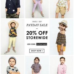 Camouflage Kids: Coupon Code for 20% OFF Storewide
