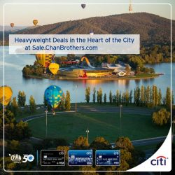 Citibank: Get up to S$400 OFF, FREE travel insurance & more deals at Chan Brothers Travel Powerhouse Sale