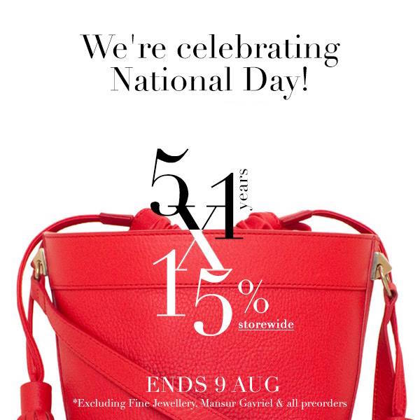 LaPrendo: National Day Coupon Code for 15% off storewide