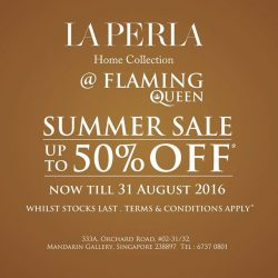 Flaming Queen Home: Laperla Home Collection Summer SALE - up to 50% OFF