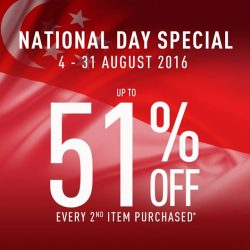 Reebok: National Day Sale 51% off every 2nd item purchased