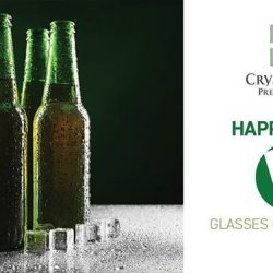 Crystal Jade: Enjoy 5 glasses of Draught Beer for only $20 from 6-8pm