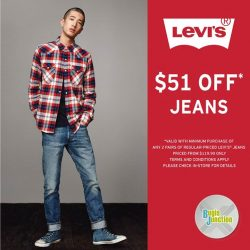 Levi's: National Day Promotion $51 OFF Jeans with min. 2 pairs purchased