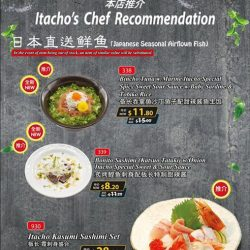 Itacho Sushi: September Promotions Up to 60% OFF