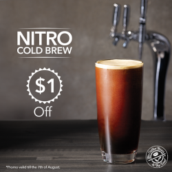 The Coffee Bean & Tea Leaf®: $1 OFF Nitro Brew