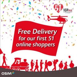 OSIM: SG51 Limited Time Offers