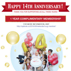 EpiCentre: Expired Members enjoy one year of complimentary membership