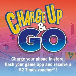 Times Bookstores: Flash Pokemon GO and Get $2 Times Voucher at Times Waterway Point