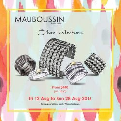 Mauboussin: Enjoy great deals on Mauboussin silver collections