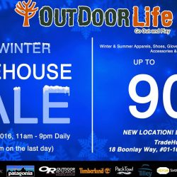 Outdoor Life: Pre-Winter Warehouse Sale Up to 90% OFF