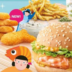 McDonald's: Classic Ebi Burger is back with NEW Fish Dippers