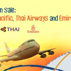 ZUJI: All Flights on Cathay Pacific, Thai Airways and Emirates on Sale!