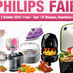 Philips: Fair at Downtown East Up to 60% OFF Home Appliances + Additional 20% OFF for NTUC Members