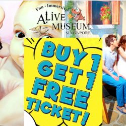 Alive Museum: Buy 1 Adult Ticket Get 1 FREE Child Ticket