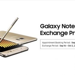 Samsung Singapore: One-to-One Exchange of Galaxy Note7