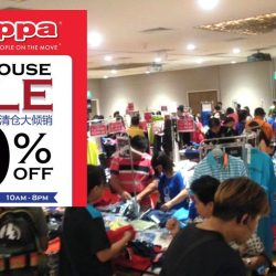 Kappa: Warehouse Sale Up to 80% OFF at Safra Toa Payoh